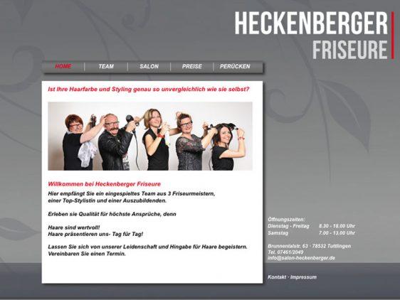Neues Look & Feel für Heckenberger Friseure