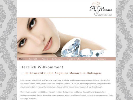 Neue Website für Monaco Cosmetics