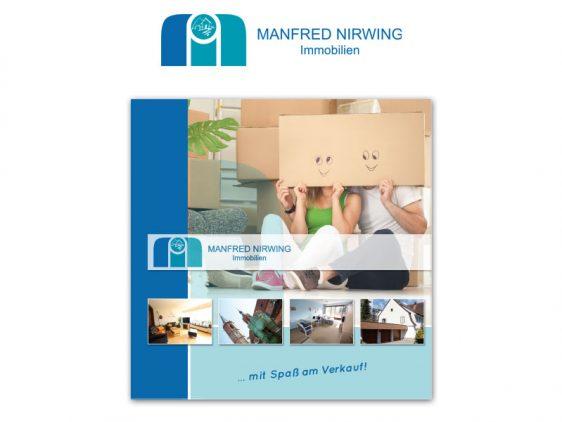 Neue Broschüre für Manfred Nirwing Immobilien