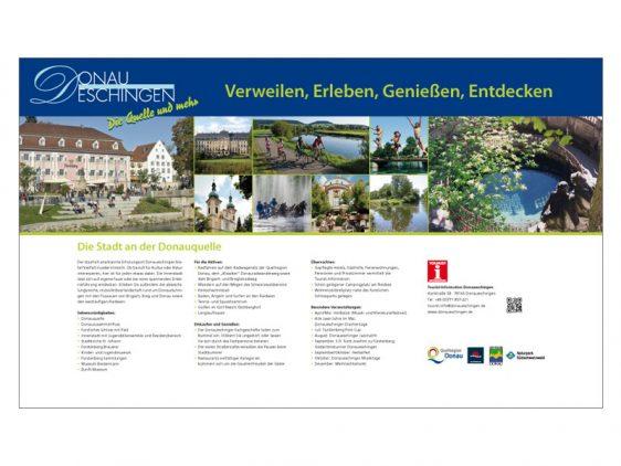 Neue Tafeln für die Stadt Donaueschingen