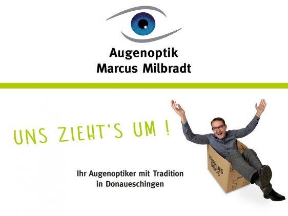 Umzugsaktion Augenoptik Milbradt