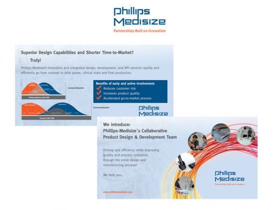Di2 Ideenschmiede Werbeagentur News Phillips Medisize Mailer