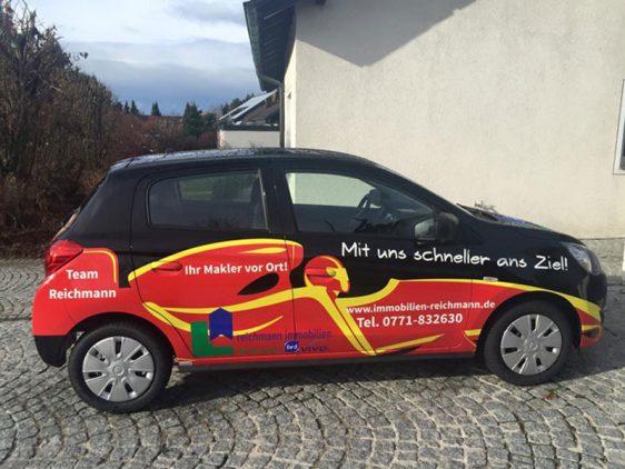Di2 Ideenschmiede Werbeagentur News Reichmann Immobilien Auto