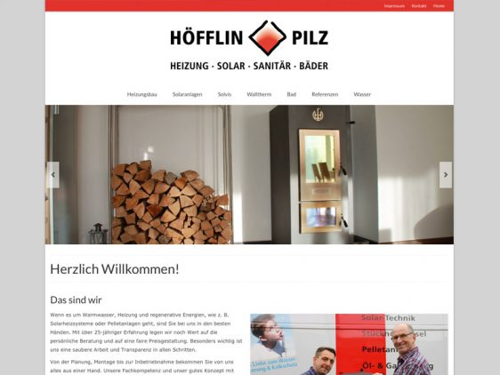 Di2 Ideenschmiede Werbeagentur News Höfflin Pilz Überblicksflyer und responsive Website
