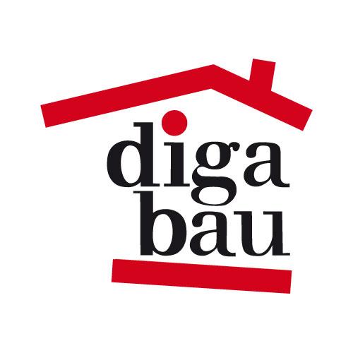 Werbeagentur Referenzen diga bau Logo