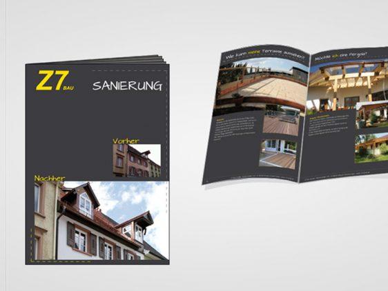 Di2 Ideenschmiede Werbeagentur News Z7 Broschüre