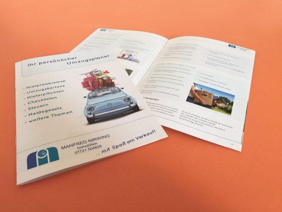 Di2 Ideenschmiede Werbeagentur News Manfred Nirwing Immobilien Umzugsplaner