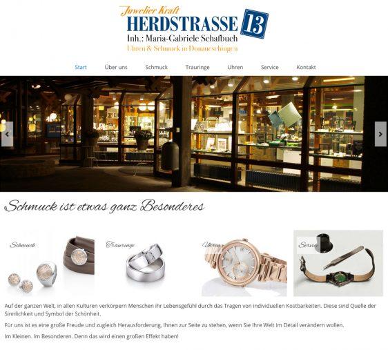 Di2 Ideenschmiede Werbeagentur News Juwelier Kraft Herdstrasse 13 Website