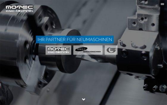 Di2 Ideenschmiede Werbeagentur News Motec Website und Katalog für die Messe