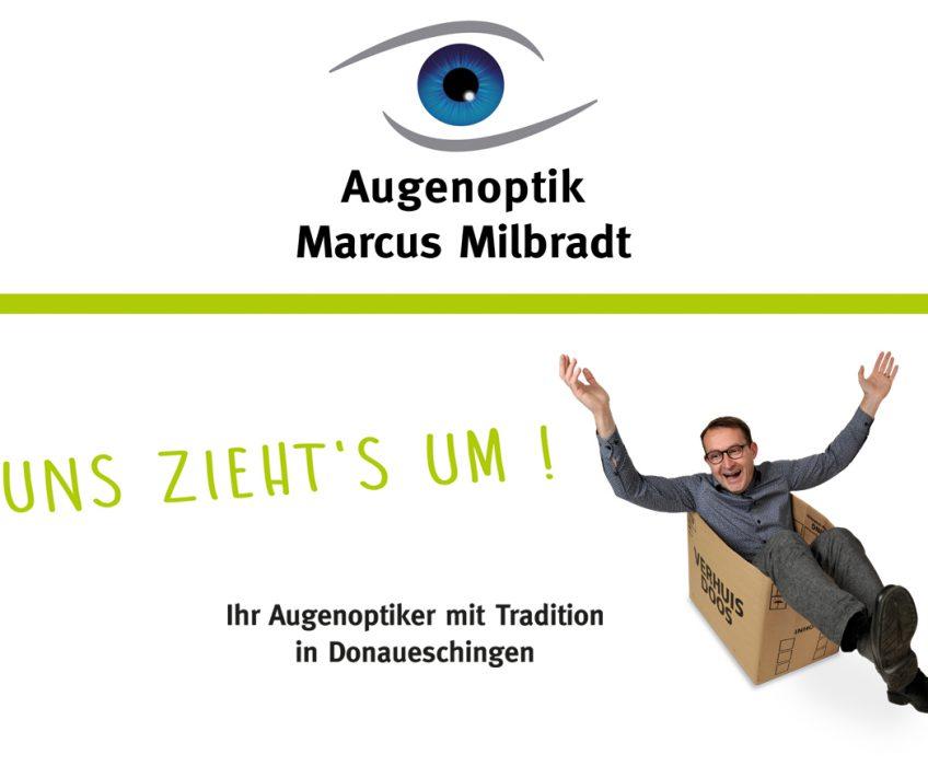 Di2 Ideenschmiede Werbeagentur News Augenoptik Milbradt Umzug