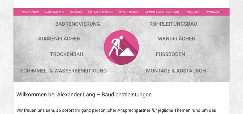 Responsive Webseite online – keine Baustelle
