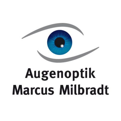 Werbeagentur Referenzen Augenoptik + Foto Marcus Milbradt Logo