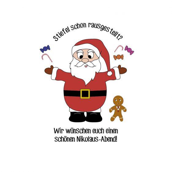 Hoffentlich waren alle artig – der Nikolaus kommt!