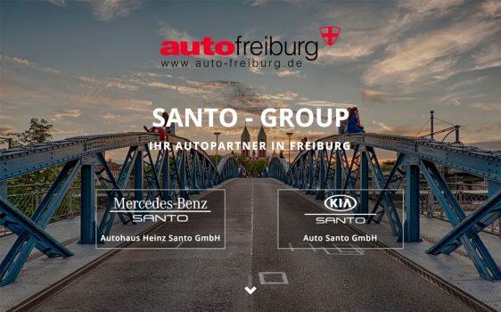 Herzlich Willkommen auf der neuen Webseite der Santo-Group in Freiburg!